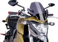 PUIG NAKED NEW GENERATION WINDSHIELD (DARK SMOKE) Fits: Honda CB1000R
