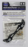 Tamiya 15498 Mini 4WD Carbon Wide Front Plate (1.5mm)