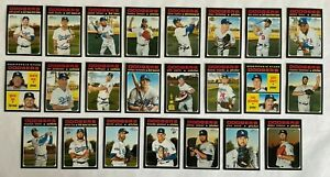 Los Angeles Dodgers 2020 Topps Heritage + High Number Team Set *23 cards* Betts