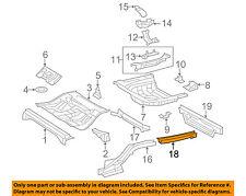 TOYOTA OEM Floor Rails-Rear-Rail End Right 5761533911