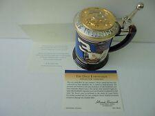 Certified Dale Earnhardt THE INTIMIDATOR Franklin Mint Collector Tankard Mug MIB