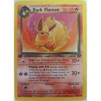 Dark Flareon  35/82 - 1st Edition- Team Rocket Pokemon - Englisch NM/Mint