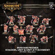 Warmachine Khador Iron Fang Pikemen/Black Dragons NIB