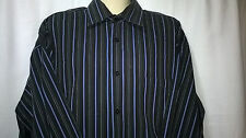 Mens Geoffrey Beene Fitted Shirt, XL, Long Sleeves, 100% Cotton