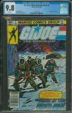 G.I. Joe A Real American Hero #2 CGC 9.8 Newsstand 1982 1st appearance of Kwinn