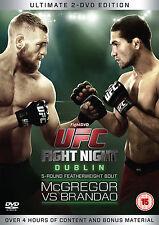 Conor McGregor VS Brandao UFC:  - Fight Night Dublin - 2DVD Box Set