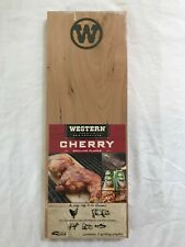 WESTERN CHERRY GRILLING PLANKS Pack of Two 2 - NEW SEALED