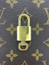 Louis Vuitton Lock & Key Brass  Keepall Duffle Kendall Epi Speedy Bag