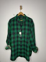 $125 New Polo Country Ralph Lauren Green 3XB 3XL Plaid Shirt RRL Hunting Western