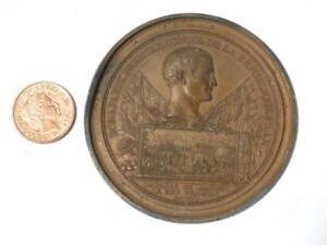 c1800 Battle of Marengo Napoleon Bonaparte France Andrieu Uniface Brnz Medal #G3