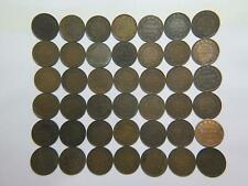 CANADA LARGE CENTS VICTORIA EDWARD GEORGE LOW GRADE WORLD COIN LOT (42)🌈⭐🌈
