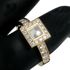 Chopard Happy Diamonds Icons 18k Yellow Gold Square Ring