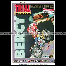 ★ TRIAL MASTER 1995 ★ Paris-Bercy Mars 95 - Pub MOTO Publicité Advert #A97