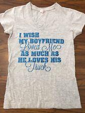 Womens Juniors Boyfriend Tshirt By LAT Ford Motors Size S