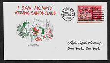 1952 I Saw Mommy Kissing Santa Claus Special Edt. Collector's Envelope. *1032