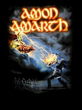 AMON AMARTH cd cvr DECEIVER OF THE GODS 2014 TOUR FLAGS Official SHIRT SMALL oop