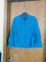 INC International Concepts Long Sleeve Green Jacket-----Size XL