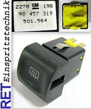 Schalter Heckscheibenheizung 90457319 Opel Vectra Omega original