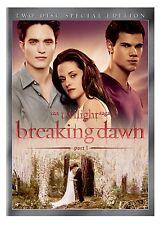 The Twilight Saga: Breaking Dawn, Part 1 (DVD, 2011) Two Disc (Bella's Wedding)