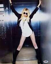 Taylor Momsen Signed 11x14 Photo PSA/DNA Pretty Reckless Gossip Girl W52764
