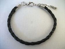 Geflochtene Modeschmuck-Armbänder mit Perlen (Imitation)