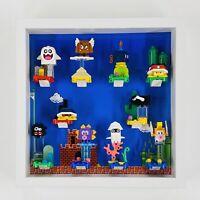 Display case Frame for Lego Super Mario Series minifigures no figures 27cm