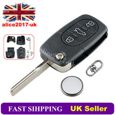 3 Button Remote Key Fob Case Repair Kit For Audi A3 A4 A6 A8 TT S6 Q7 QUATTRO