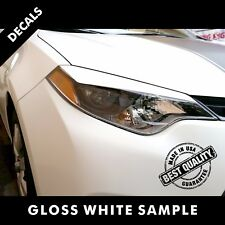 Toyota Corolla LE Pre-Cut Eyelid Decals Vinyl Set 2015 to 2017 |43