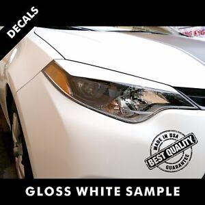 Toyota Corolla LE Pre-Cut Eyelid Decals Vinyl Set 2015 to 2017 |43