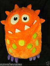 """Circo Orange Monster Pillow Pajama Keeper 14"""" Tall Plush Target Stuffed Animal"""