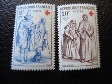 France - stamp yvert/tellier N° 1140 1141 n Mnh (Col3)