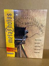 Pc Cd-Rom - (Nib Sealed) Metaphoto (Professionals Collection) - MetaTools