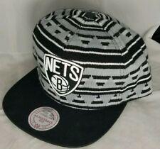 BROOKLYN NETS MITCHELL & NESS Mens NBA MIXTEC SNAPBACK CAP HAT