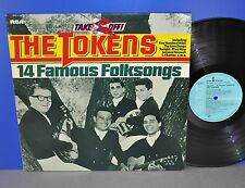 The Token 14 famous folk canzoni Take Off D'76 RCA M -/M-VINILE LP Pulito Clean