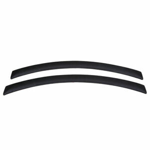 Pair Universal Car Auto Anti scratch Eyebrow Protector Sticker Soft Rubber Strip