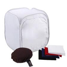 "Photography Cube Soft Box 16"" Shooting Tent Studio Softbox Lighting Backdrop"