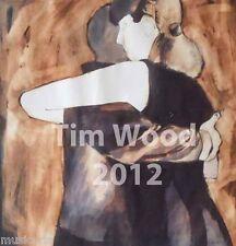 "signed art print  by TIM WOOD - tango art "" CLOSE EMBRACE """
