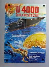 U-4000 / ATRAGON II * TOHO / I. HONDA - KEIJU EIGA - A1-Filmposter EA 1970