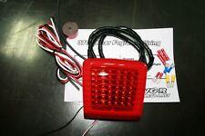 LED Rear F1 RED Foglight for 09-15 Nissan 370Z EVO-R Z34