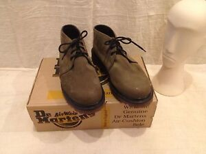 Dr. Martens Green Ankle Boots England Eu 6 Us 7
