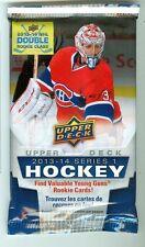 Lot of 2 2013-14 Upper Deck Hockey Series 1 Hot Packs