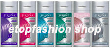 Neue temporäre Haar Farbe färbe Balsam Shampoo Conditioner Tonika Wash Out