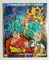 ALBUM DRAGON BALL SUPER + SET COMPLETO FIGURINE STICKERS EX SIGILLATO PANINI