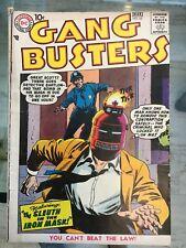 Gang Busters #62 Feb Mar 1958 2.5