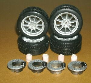 1/18 Scale Michelin Pilot Sport Tires on Porsche 911 Targa 996 Wheels