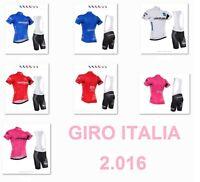 Equipacion ciclismo Giro 2016 corta bibshorts cycling maillot jersey ropa velo