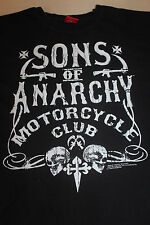 Sons of Anarchy Motorcycle Club Men's Black T Shirt Size Large