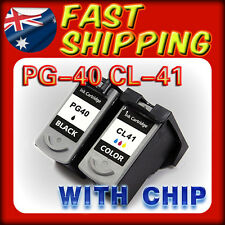 2 x Ink Cartridge PG 40 CL 41 for Canon IP2400 MP460 MP470 MX300 MX310 Printer