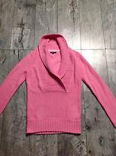 Tommy Hilfiger Exklusiv Damen Strick Pullover S Pink Neuwertiger Zustand