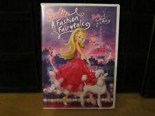 Barbie A Fashion Fairytale (DVD,2010)--LIKE NEW